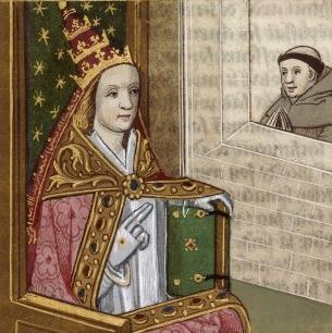 Papieżyca Joanna kobieta, która zawładnęła Watykanem
