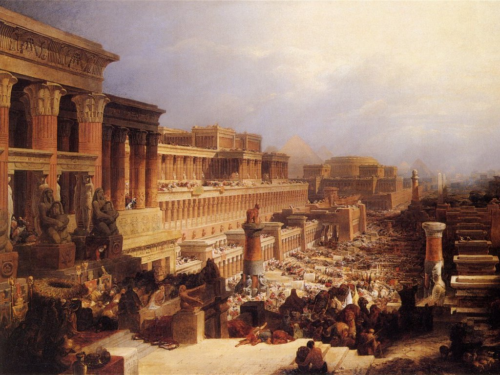 Izraelici w Egipcie