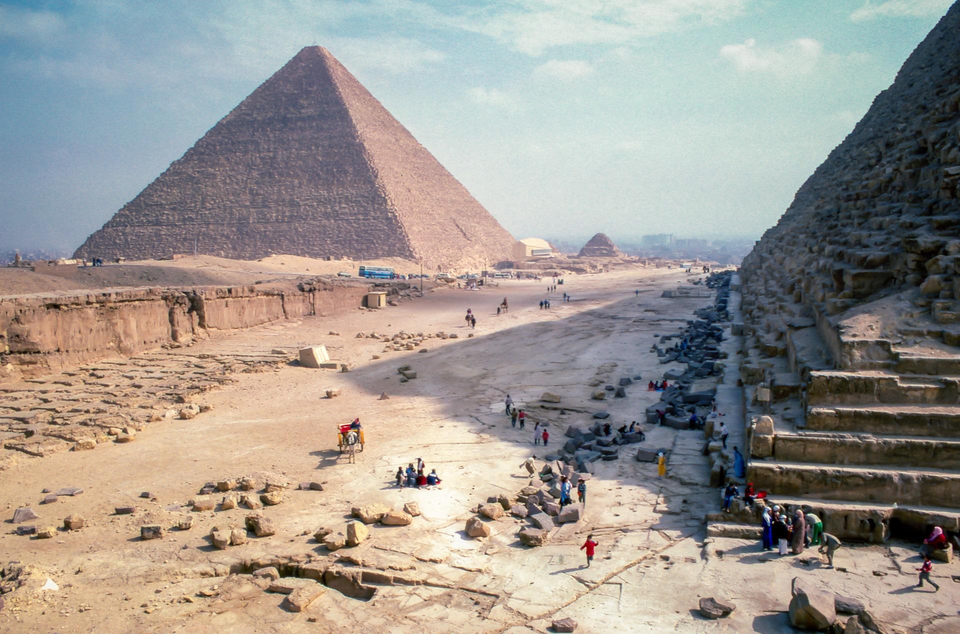 pyramida w Gizie